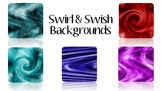 Swirl & Swish Backgrounds