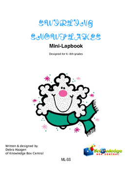 Swirling Snowflakes Mini-Lapbook