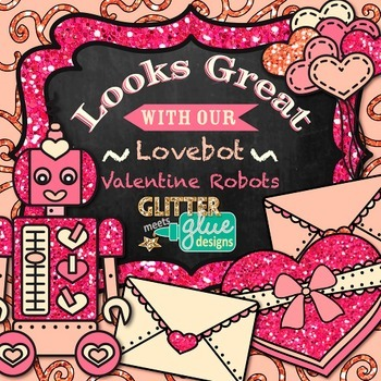 Valentine's Day Paper {Scrapbook Backgrounds for Task Cards & Brag Tags}