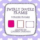 Swirly Frames Freebie
