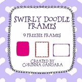 Swirly Frames Freebie