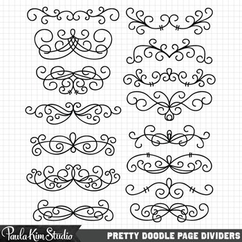 Clipart - Page Dividers