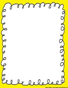 Swirly Whirly Doodle Borders {Personal or Commercial Use}