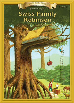 Swiss Family Robinson 10 Chapter Novel with Student Activi
