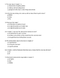 Swiss Family Robinson Complete Quizzes for Ch. 1-16