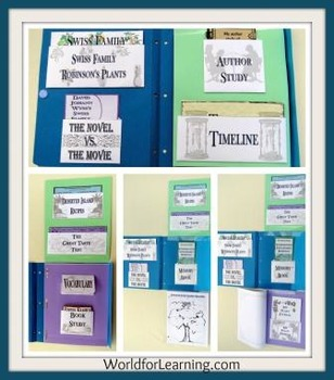 Swiss Family Robinson - Literature Guide Lapbook