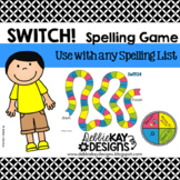 Switch!  Spelling Game for any Word List