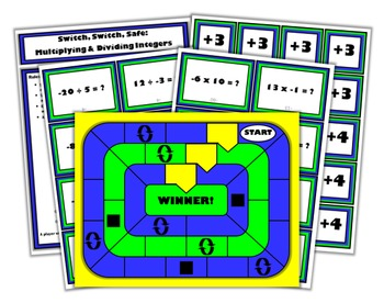 Switch, Switch, Safe: A Math Game for Multiplying and Dividing Integers