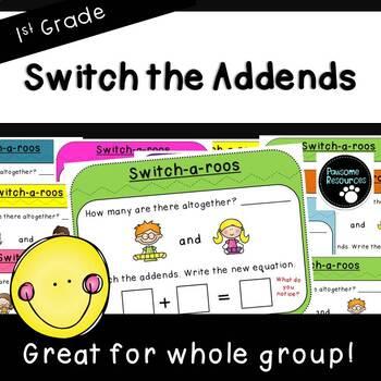 Switch-a-roos-Teacher Slides (First Grade, 1.OA.3)