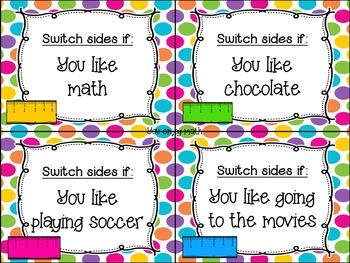 Switch your SIde-A Back to School Activity