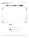 SwitchZoo Animals and Habitats
