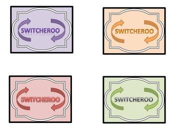 Switcheroo Game for Phonics