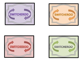 Switcheroo Game for Phonics deck 1