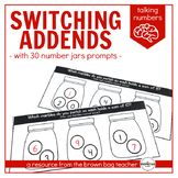 Switching Addends, Number Jar Prompts: Talking Numbers