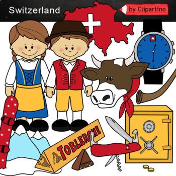 Switzerland Clipart Bundle