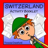 Switzerland Copywork, Activities, and Country Booklet