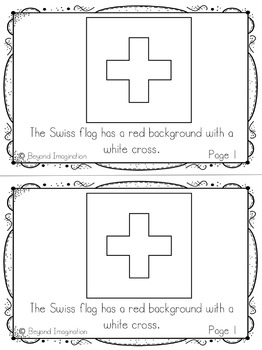 Switzerland Booklet Country Study Project Unit