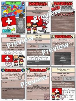Switzerland World Music Digital Passport