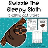 Swizzle the Sleepy Sloth {S-Blends!}