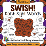 Sight Words - Dolch- Swish!  A Basketball Game