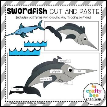 Swordfish Craft (Label It!)