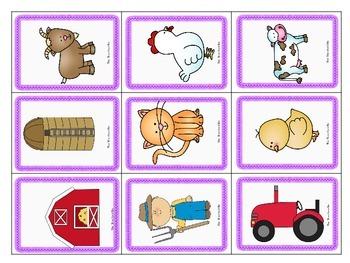 Kindergarten - Special Education- Syllable Games