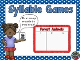 Kindergarten - Special Education- Syllable Games