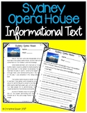 Sydney Opera House Informational Text