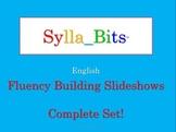 MAP NWEA Prep Reading SyllaBits Fluency Building Slideshows Complete Set