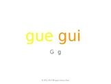 SyllaBits Spanish Gue, gui Syllable Slideshow