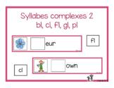 Syllabes complexes 2