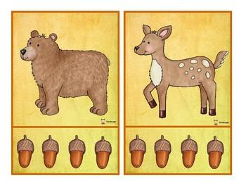 Syllabes: les animaux de la forêt
