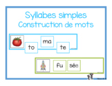 Syllabes simples