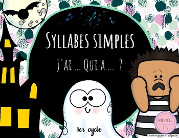 Syllabes simples Halloween