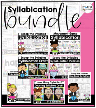 Syllabication BUNDLED Resource (6 resources +1 Bonus Freebie!)