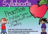 Syllabication Boom/Digital Cards-NO PREP