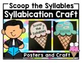 Syllabication Rules Craft (2 syllables, 6 rules - 2.RF.3c, 2.RF.3d)