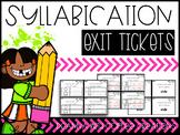 Syllabication Exit Tickets {2.RF.3c, 2.RF.3d}