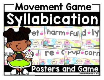 Syllabication Rules Movement - Interactive Game