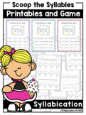 Syllabication Rules NO PREP Activities - Printables and Game