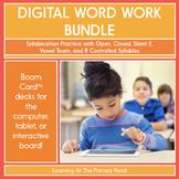 Syllabication Practice for 1st Grade - Digital Phonics Act