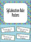 Syllabication Rule Posters {Anchor Charts}