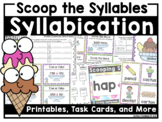 Syllabication Rule Posters, SCOOT Cards, Exit Tickets, and More!