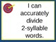 Syllabication Rules Dividing Words Into Syllables Lesson 1 (5 Rules Taught)