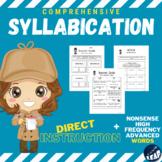 READING - Syllabication COMPREHENSIVE Workbook - Distance