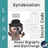 Syllabication *Secret Code* Vowel Teams and R-Controlled Vowels
