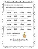 Syllabication Steps