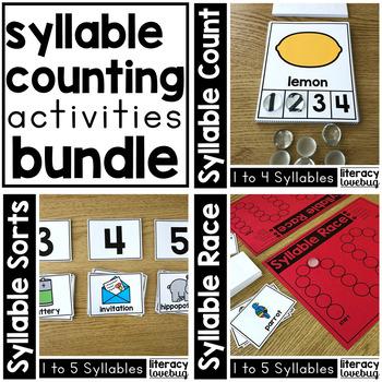 Syllable Activities BUNDLE