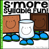 Syllable Activities - S'more Syllable Fun!