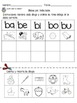 Syllable Activity Sheets in Spanish